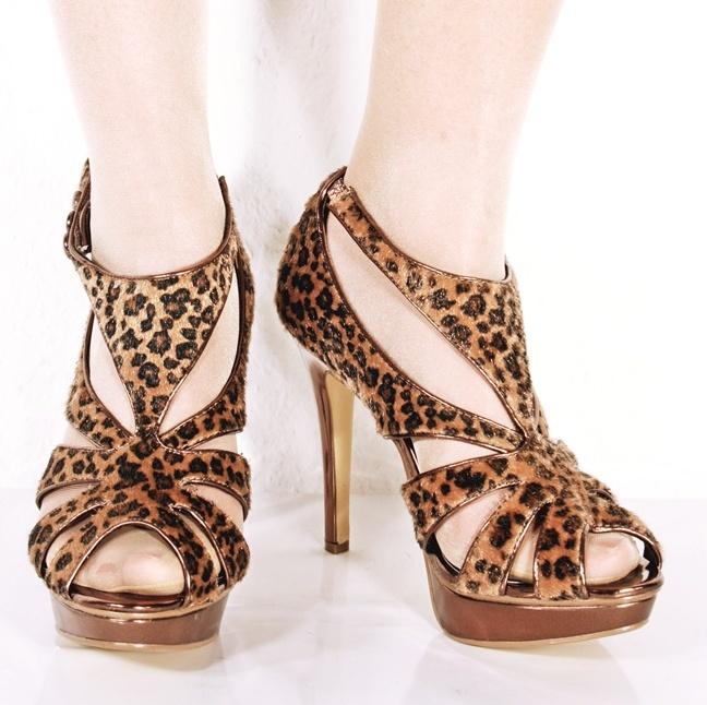 high heels sandalette plateau leo 12 cm sexy ebay. Black Bedroom Furniture Sets. Home Design Ideas